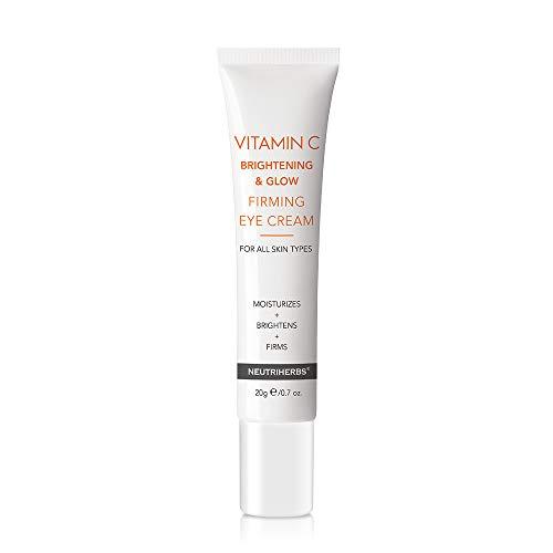Neutriherbs Vitamin C Firming Eye Cream Fade Bags Dark Circle and Puffiness Rapid Wrinkle Repair Under Eye Gel with Hyaluronic Acid 20g e/0.7 oz.