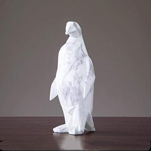 ZLININ Y-longhair Dekorationen Kunst Handwerk Tier Dekoration Wohnzimmer Desktop Weinkühler Kreative Marmor Studie 1