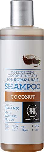 Urtekram Kokos Shampoo Bio, normales Haar, 250 ml