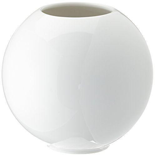Kaiser Porzellan Kugelvase, Weiß