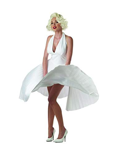 California Costumes Women's Adult Deluxe Marilyn, White, S...