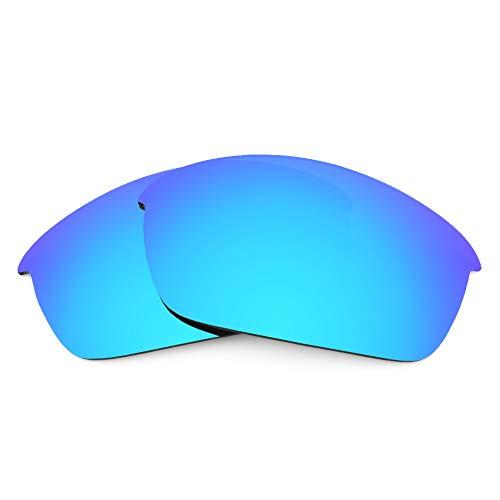 Revant Lentes de Repuesto Compatibles con Gafas de Sol Oakley Flak Jacket, Polarizados, Azul Hielo MirrorShield