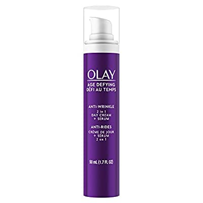 Olay Age Defying Anti-Wrinkle 2-in-1 Day Cream Plus Face Serum, 50 mL from Olay