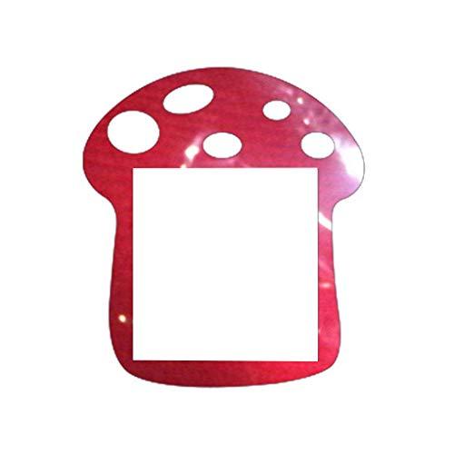 Interruptor de hongos acrílico zócalo de dibujos animados etiqueta de la pared papel pintado de estar conmutador de papel tapiz jardín de infantes Sala Dormitorio decorativo de la etiqueta