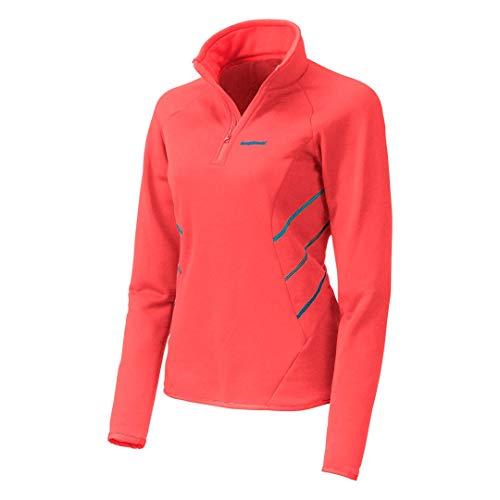 Trango Darya Sweat-Shirt Femme, Rouge, FR (Taille Fabricant : XL)