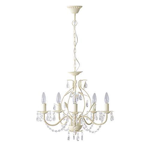 エア・リゾーム シャンデリア 照明 LED電球対応 5灯 4畳用 6畳用 天井照明 5灯シャンデリア Tias(ティアス)