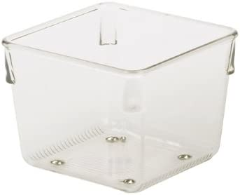 Interdesign Drawer We OFFer at cheap prices Organizer Clear Linus Arlington Mall 3