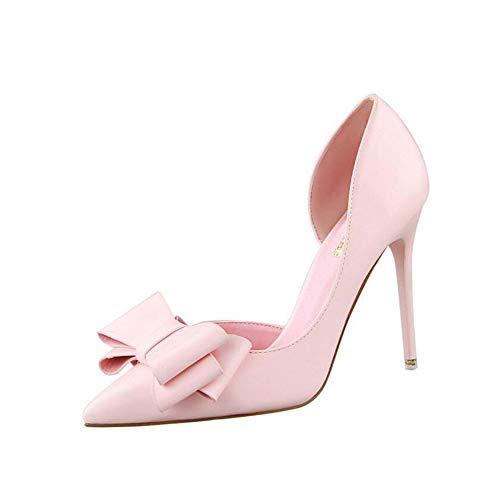 Zapatos para Mujer Punta Cerrada Puntiagudo Tacón Alto Aguja Arco Clásico Elegante...