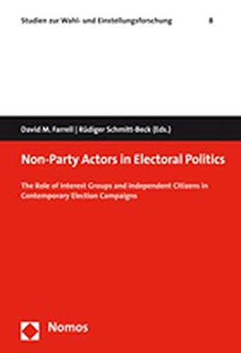 Non-Party Actors in Electoral Politics: The Role of Interest Groups and Independent Citizens in Contemporary Election Campaigns