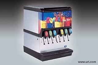 Servend Ice Beverage Dispenser, 250 Lbs Pounds Storage, 8 Valves Sv250-8