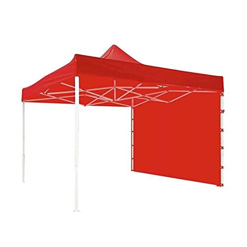YSJJYQZ Tienda de campaña 3x2m Tienda de campaña al Aire Libre Patio Patio Patio Pared Sunshade Party Camping Tienda Plegable Tienda Portátil Impermeable Gazebo Shelter (Color : Red)