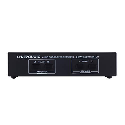perfk XLR Lautsprecher Leistungsverstärker Switch für Amplifier/Speaker, für Top Sound Qualität