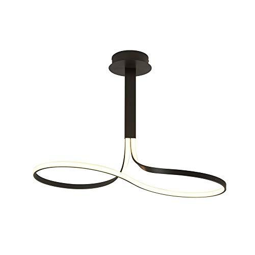 Lámpara led 40w temperatura 2800k - luz cálida- dimable colección nur brown oxide