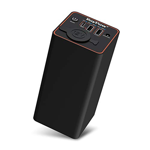 RoyPow Tragbares Ladegerät 30W PD USB-C Power Bank 23400mAh mit 12V Zigarettenanzünder Steckdose, externem Akku für Laptop MacBook Air iPad iPhone Autokamera oder Camping Reisen