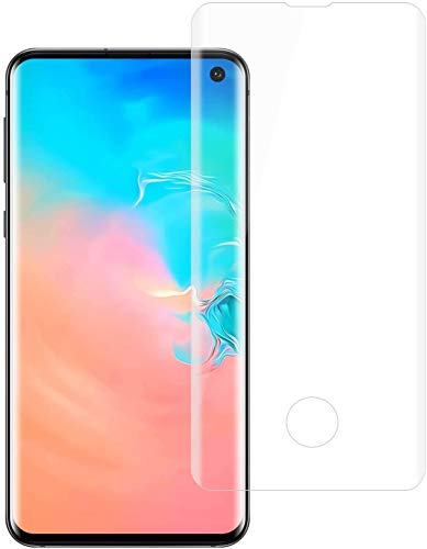 Galaxy S10 ガラスフィルム 3D曲面 フルカバー 強化ガラス Samsung ギャラクシー S10 SCV41 SC-03 フィルム 硬度9H 高透過率 飛散防止 指紋防止 (Galaxy S10 フィルム クリア)
