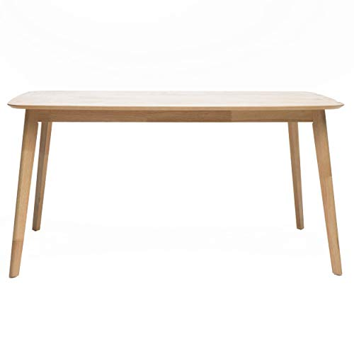 Christopher Knight Home Nyala Wood Dining Table, Natural Oak Finish