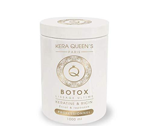 soin botox kera queen's 1000ML keratine&Ail