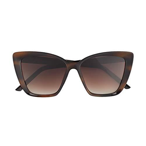 Parfois - Gafas De Sol Montura De Pasta - Mujeres - Tallas Única - Castanho Escuro