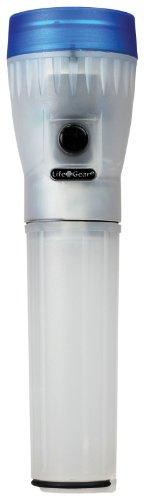 Life Gear 4in1Multimode 30lumen torcia LED, Glow Handle, emergency Flasher e vano portaoggetti, blu, LG147
