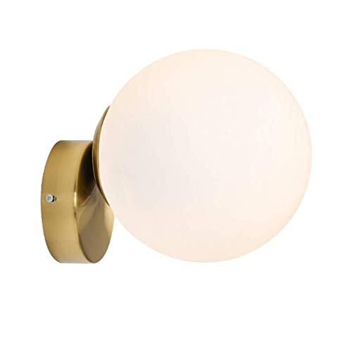 Wall Lamp Ball Corridor Aisle Living Room Ceiling Lamp Lamp Bedroom Bedside Lighting durable (Size : Small)