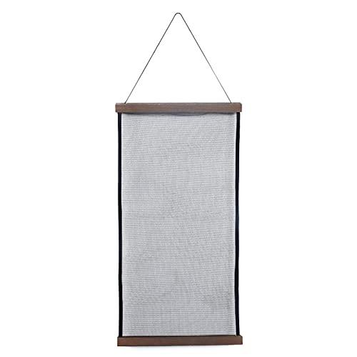 puseky Pendiente collar titular de gran capacidad pendiente estante joyería colgante marco exhibición percha