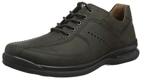 Hotter Lance, Zapatos de Cordones Oxford Hombre, Gris (Ocean 148), 41 EU