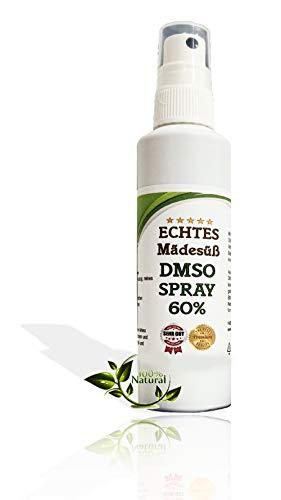 Leivys DMSO Spray 60 Mädesüß Beifuß Auszug - Dimethylsulfoxid 99,9% in HDPE Sprayflasche (100ml)
