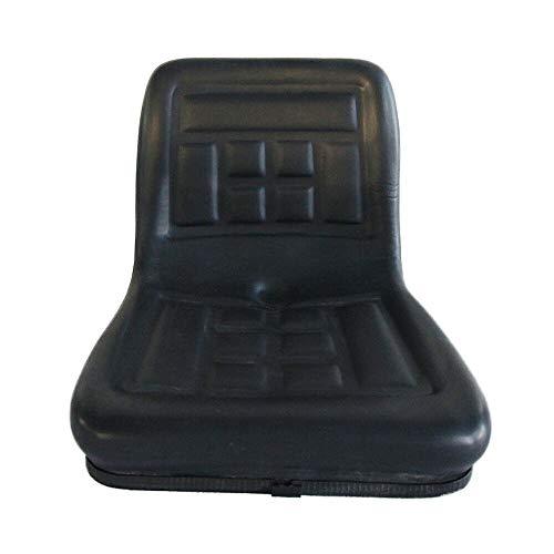 Aohuada Universal Traktorsitz mit Rückenlehne Schleppersitz Fahrersitz Bagger Traktor Schleppersitz Treckersitz