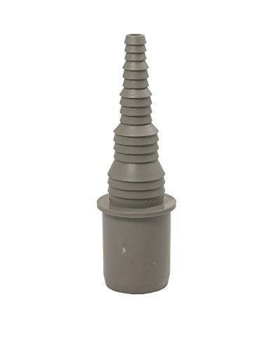 Airfit Schlauchnippel DN 32 für Schlauch von Ø 8 bis 25 mm - KS-grau