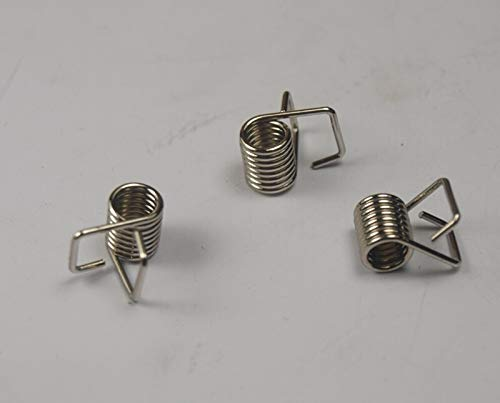 WNJ-TOOL, 10pcs verzinktes Torsionsfeder Zahnriemens Sperrfeder for DIY Ultimaker 2 3 D Drucker (Farbe : for 6MM Width Belt)