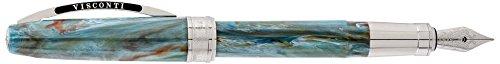 Visconti 78325 A10BP - Penna stilografica, motivo: ritratto di Van Gogh, colore: Blu Penna stilografica, pennino medio