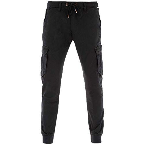 Reell Jeans Reflex Rib Cargo Black Denim - M(normal)