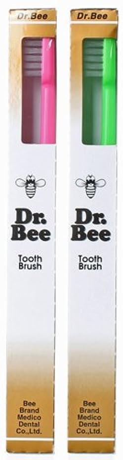 全く例外竜巻BeeBrand Dr.BEE 歯ブラシ ビー かため 2本セット