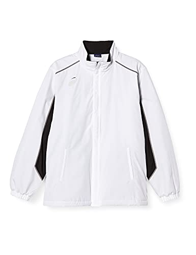 [アシックス] トレーニングウエア ウォーマージャケット 2031A233 メンズ ブリリアントホワイト 日本 XS (日本サイズXS相当)