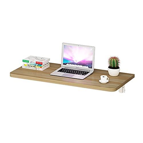 LOUXIAO cosas buenas- Tabla plegable de la pared del escritorio de la pared del escritorio de la pared Doble la dureza fuerte no se deforma fácilmente la mesa de comedor que cuelga en la pared usada p