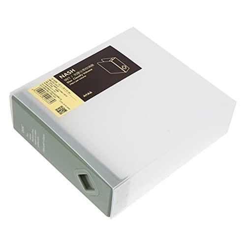 Milisten CD Boîte De Rangement 24 Capacité Disque De Stockage Étui de Transport Portable CD DVD Liant avec CD De Stockage Pages pour Accueil Véhicule De Pois Vert