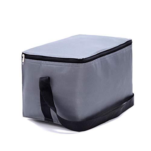Grand Paquet D'isolation en Tissu Oxford Pack De Glace Paquet De Nourriture Fraîche Réfrigéré Sac De Pique-Nique pour Voiture en Plein Air Sac À Lunch Multifonctionnel