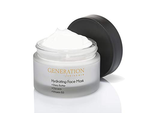 Generation Skincare Best Face Mask For Dry Skin - Remove Blackheads - Face Detox - Hydrating Treatment For Acne - Made in the UK With An All Natural Formula - Exfoliating Mask For Women