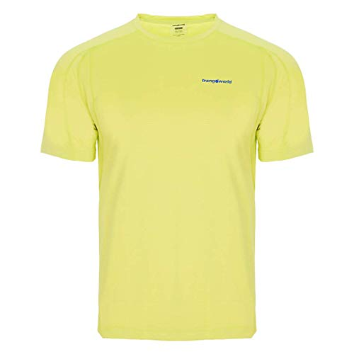Trangoworld Coiro T-Shirt Homme, Jaune-Vert Lime, L