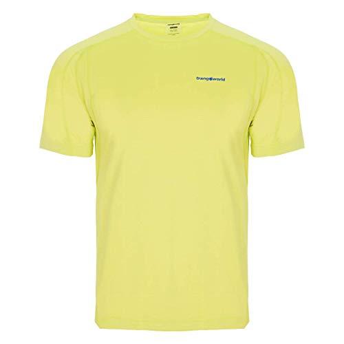 Trangoworld Coiro T-Shirt Homme, Jaune-Vert Lime, XL