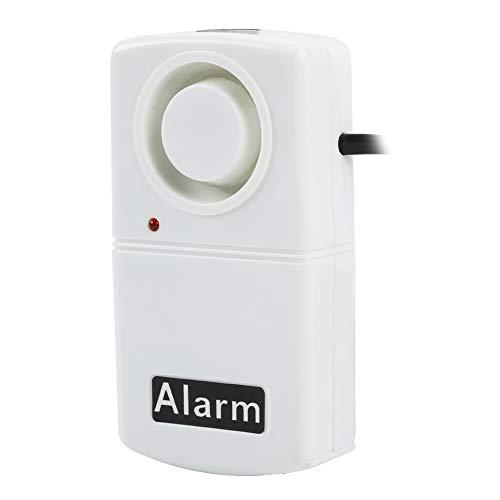 Bewinner Power Failure Alarm, Power Out/Failure Alarm LED Indicator Siren Alarms Smart 120db Automatic Power Cut Failure Outage Alarm Warning Siren CN Plug 220V