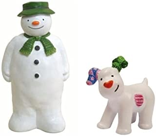 The Snowman and The Snowdog Cake Decoration Figurines