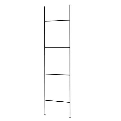 Blomus Handtuchleiter-69078 Handtuchleiter, Schwarz, One Size