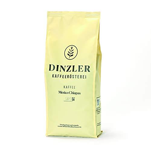 Dinzler Kaffee Mexico Chiapas Organico - ganze Bohne - 250 g - Bio und Fair