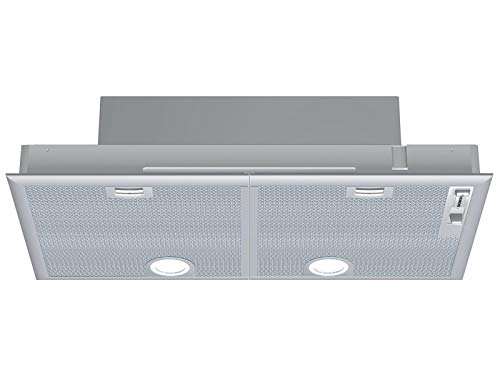 Grupo filtrante Siemens LB75565 – Campana extractora integrable – Ancho 75 cm – Caudal máximo de aire (en m3/h): 638 – Nivel sonoro Decibel Mini/Maxi. (en dBA): 43/68