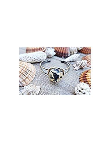 Seestern Armband, Beach Terrarium, Flakon Armband, Glas Flakon, Terrarium Armband, Sea Terrarium Schmuck, Kunstharz Jewelry