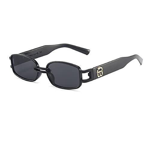 NBJSL Gafas de sol retro clásicas para mujer Gafas de sol de Plasitc para dama Gafas de sol vintage Vintage Caja de embalaje exquisita