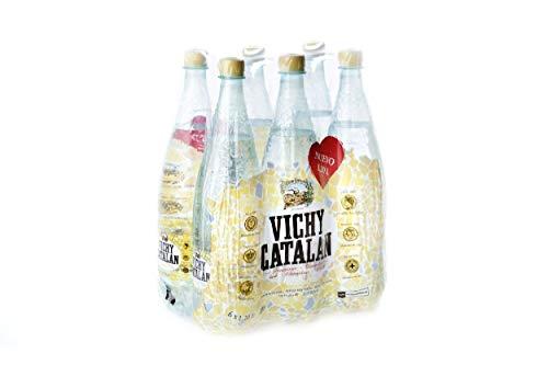Vichy Catalan - Bebida refrescante - Botella 1,2 L (Pack de 6)