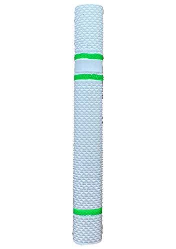 Newbery Cricket Newbery Bat Grip Bate de Críquet, Unisex-Adult, Blanco/Verde, Talla Única