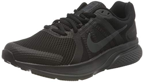 Nike Herren Run Swift 2 Running Shoe, Black/Dark Smoke Grey, 42 EU